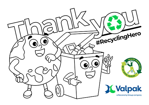Recycle Week Thank You Poster