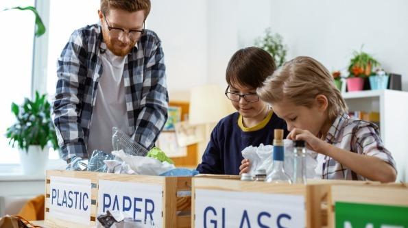 School recycling ideas