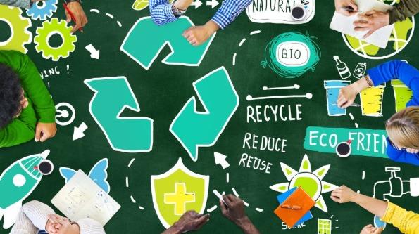 School activities, recycle-more
